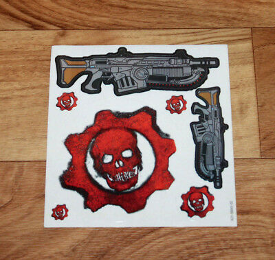 $12.99 • Buy Gears Of War 2 3 4 Sticker Set Lancer Xbox 360 One