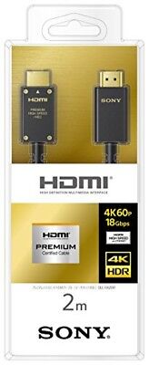 £81.14 • Buy Sony Premium High-speed HDMI Cable 2.0m DLC-HX20XF From Japan