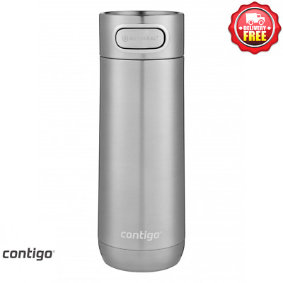 AU44 • Buy Contigo Luxe Autoseal Thermo Insulated Travel Mug 473ml  - Stainless Steel