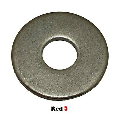 AU6.80 • Buy M6 (6mm) Flat Mudguard Washer - (18.0mm X 1.6mm) - Stainless Steel G304