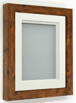 £10.07 • Buy Frame Company Rickman Range Rustic Box Frame With Choice Of Mount Colours