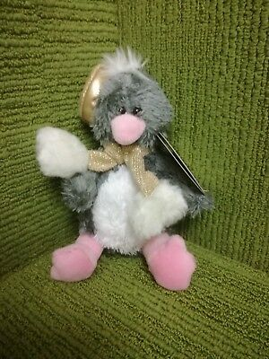 Tesco Chilly & Friends 2006 - Charle Penguin 7  Plush Soft Toy Lovely With Tags • 5.99£