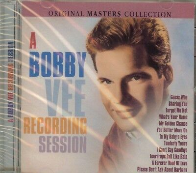 $11.95 • Buy Bobby Vee - Recording Session - Original Masters Collection - Cd - New