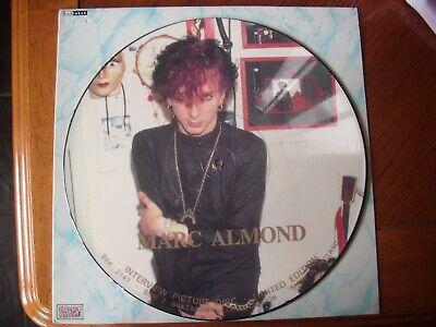 £21.99 • Buy Marc Almond 12  Vinyl Interview Picture Disc Soft Cell Limited Edition