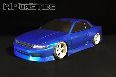 RC Body Car Drift Touring 1:10 Nissan Silvia S13 Odyvia Style APlastics New • 27.24£