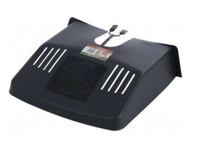 Outdoor Drain Grid Gutter Cover Black Plastic Prevents Blockages To Drains • 5.29£