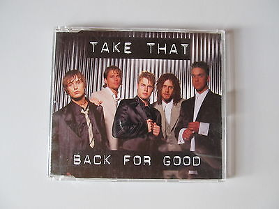 £1.70 • Buy 3-Track Maxi-CD Take That - Back For Good / Sure / Beatles Tribute