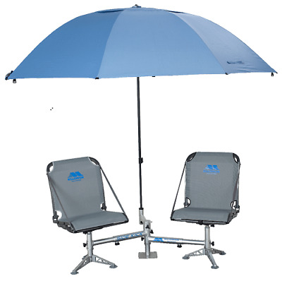 $379.99 • Buy Millennium D200 Sidekick Double Seat Stand W/ Shade Tree Umbrella Holder Only