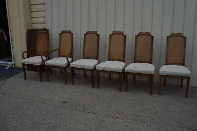 59781 Set 6 DREXEL TRYON MANOR Dining Room Chairs Chair S U2022 625.00$