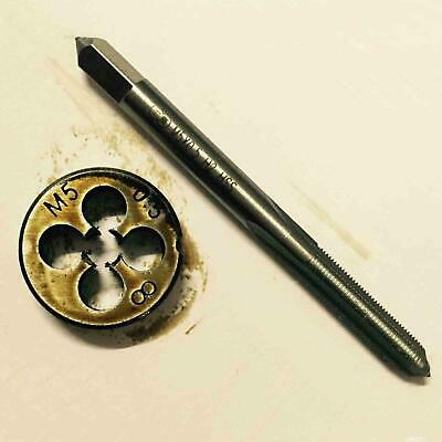 $7.79 • Buy HSS M5 X 0.5 / 0.8 Mm Plug Tap Die Threading Tool For Machine Right Hand