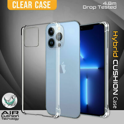 AU5.95 • Buy Clear Shockproof Case Cover For IPhone 12 Mini 11 Pro XS MAX XR X 8 7 Plus 6S SE