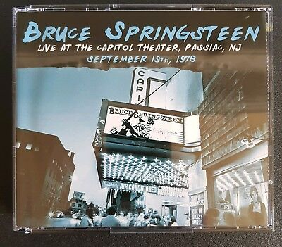 Bruce Springsteen.cd.x3 Disc Set Live 1998.new Jersey • 25£