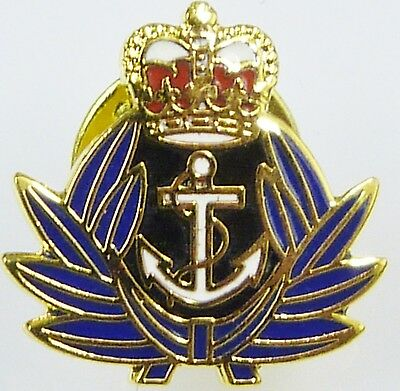 Wrns Classic Hand Made In Uk Gold Plated Lapel Pin Badge • 3.74£