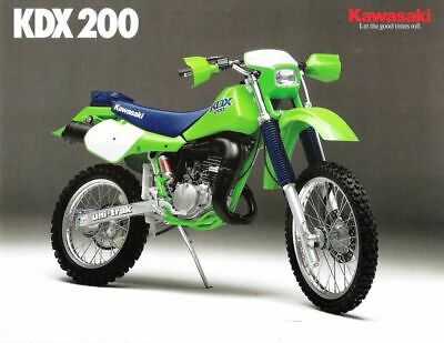 AU300 • Buy Kawasaki Kdx200 1986, Wrecking/parting Out.