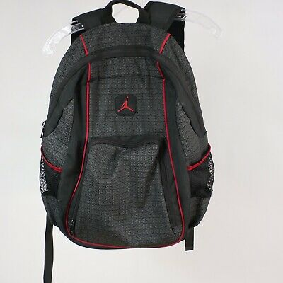 f19d5a60c946b2 Nike Air Jordan  23 Jump Man Back Pack Black Red Gym Book Bag • 30.00