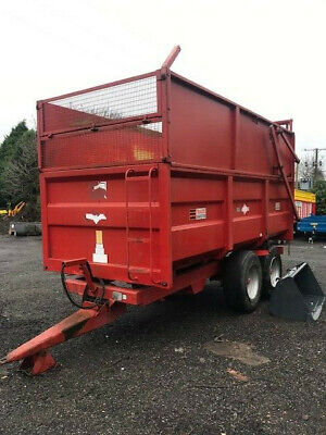 Silage Grain Trailer 10 Tonne  C/W Grain Door And Side Extension   PRICE INC VAT • 7,800£