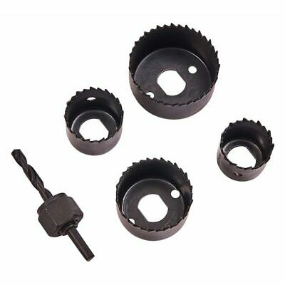 £6.05 • Buy 5pc Hole Saw Set Down Light Hole Cutter Circular Tooth Saw Drive Arbor 32mm~54mm