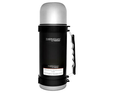 AU33.99 • Buy New THERMOS ThermoCafe Stainless Steel Vacuum Insulated Flask 1.0 Litre Black