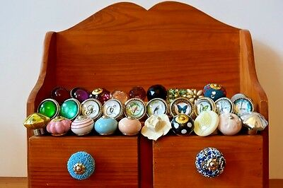 Ceramic & Glass Vintage Chic, Cupboard Door/drawer Knobs/handles Mix & Match. • 1.85£