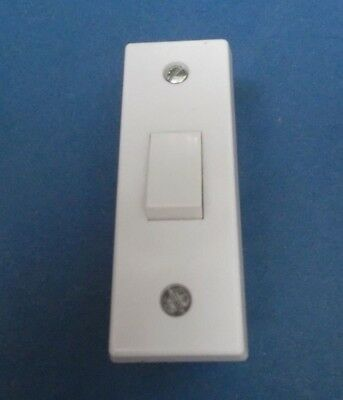 £1 • Buy Contemporary 1 Gang 2 Way Architrave Switch 3cm Wide X 8cm Long X 3.4cm Diameter