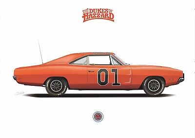 £12 • Buy General Lee Car The Dukes Of Hazzard 1969 Dodge Charger(CLEAN VERSION)