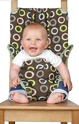Baby Chair Totseat Portable Washable Squashable Highchair, Travel Seat • 15£