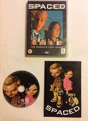Spaced DVD The Complete First Series Simon Pegg+Jessica Stevenson • 2.95£