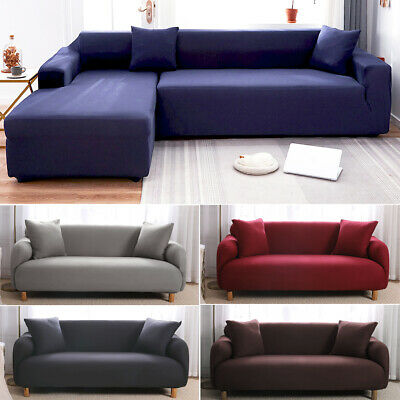 AU24.99 • Buy Stretch Sofa Cover Couch Lounge Recliner Slipcover Protector 1 2 3 4 Seater