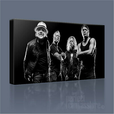 Metallica Awesome Hand-crafted Legendary Iconic Canvas Art Print + Free Upgrade • 63.71£