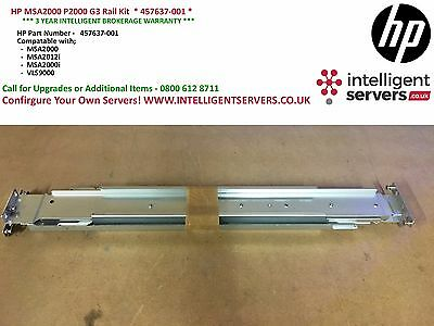 HP MSA2000 P2000 G3 Rail Kit  * 457637-001 * • 60£