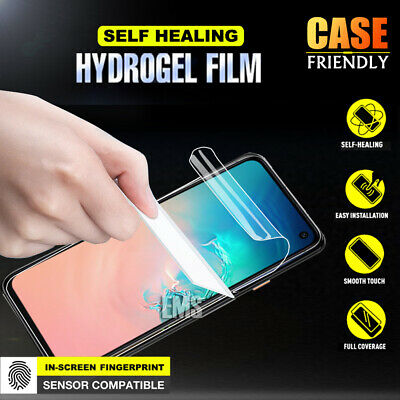 AU3.49 • Buy For Samsung Galaxy S20 FE S10 S9 S8 S7 Plus HYDROGEL Full Cover Screen Protector