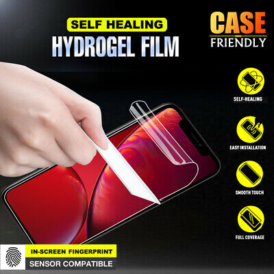 AU3.99 • Buy Apple IPhone 8 7 Plus X XS MAX XR 6 6S HYDROGEL Full Coverage Screen Protector