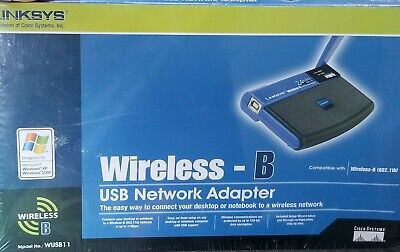$14.97 • Buy Linksys WUSB11 V3 Instant Wireless WiFi USB Network Adapter New In Box