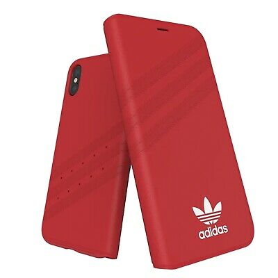 AU59.95 • Buy Adidas Originals Booklet Case Suits IPhone X | Xs - Red / White BRAND NEW