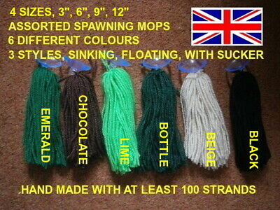 £1.90 • Buy Assorted Spawning Mops X 1 For Egg Layers, Live Bearers, Killifish Etc