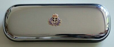 Wrens Wrns  Hand Made In The Uk Chrome Finished Glasses Case  • 11.99£