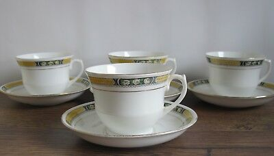 4 X Vintage Royal Osborne China Cups And Saucers. • 9.99£