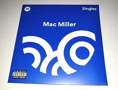 AU95.61 • Buy Mac Miller Spotify Singles Limited Edition Blue 7  Vinyl LP Record NEW SEALED