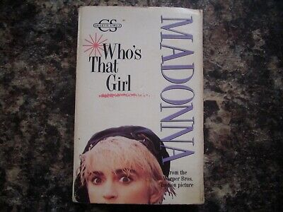 Madonna Whos That Girl Cassette Single 1987 Who's • 13.99£