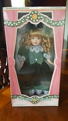 $ CDN17.66 • Buy Victorian Collection By 'melissa Jane'   Porcelain Dolls  1995 Edition