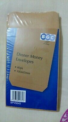 £2.79 • Buy SMALL BROWN MANILLA DINNER MONEY/COIN/SEED ENVELOPES 90GSM 100mm X 65.