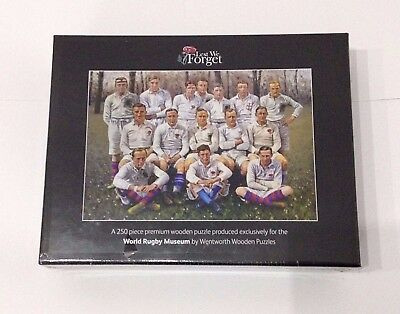 Forever England Rugby Premium Wooden Jigsaw By Wentworth  Brand New In Box  • 19.99£