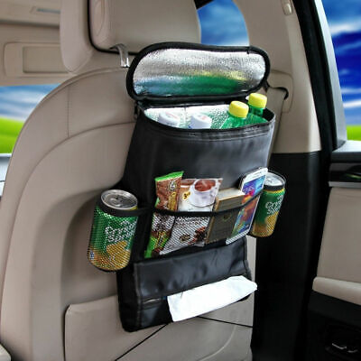 $8.99 • Buy Black Auto Car Seat Back Multi-Pocket Storage Bag Organizer Holder Accessory