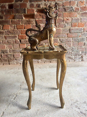 Fabulous Seville Gilt Occasional Table With Matching Dragon Cabriole Legs  • 495£