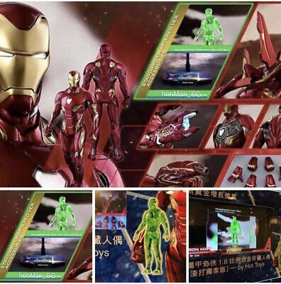 $ CDN4008.90 • Buy Hot Toys MMS473D23 Avengers Infinity War 1/6 Iron Man Mark L 50 Standard Charted