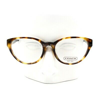 8e32472b2bdd COACH HC 6039 5045 Baily Eyeglasses Glasses Spotty Yellow Tortoise  51-17-135 •