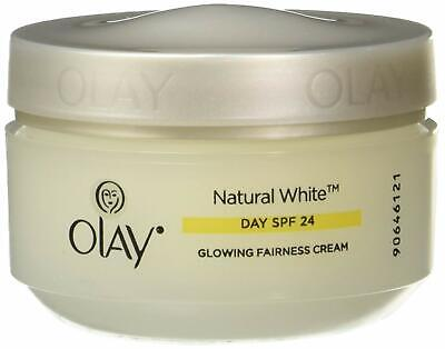 AU16.30 • Buy Olay Natural White 7 In 1 Glowing Fairness Day Skin Cream SPF 24, 50g