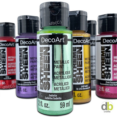 DecoArt Extreme Sheen Metallics 2oz 59ml Pot  • 3.25£