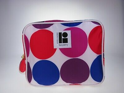 Estee Lauder Cosmetic Make Up Bag Case Travel Toiletry *Lisa Perry  • 2.99£