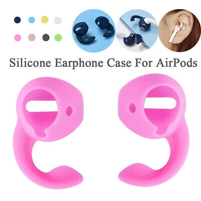 $ CDN8.58 • Buy Silicone Shockproof Case Cover & Ear Hooks For Apple Airpods Sports Accessories